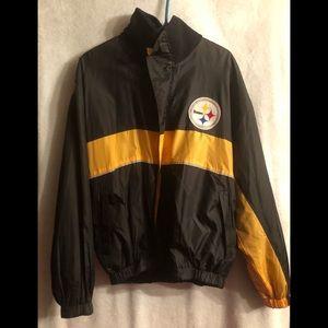 Reversible Pittsburgh Steelers Jacket.